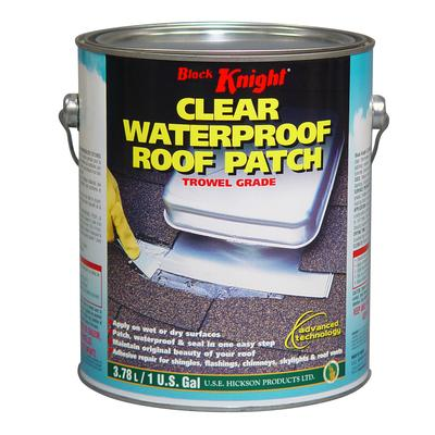 Black Knight Black Knight Clear Roof Patch Home Depot