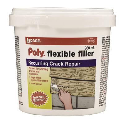 Lepage Lepage Polytm Flexible Filler 980ml Home Depot Canada Toronto