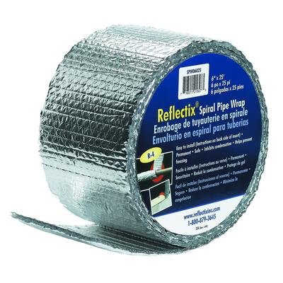 Reflectix Reflectix Pipe Wrap 6 In X25 Ft Home Depot Canada Toronto