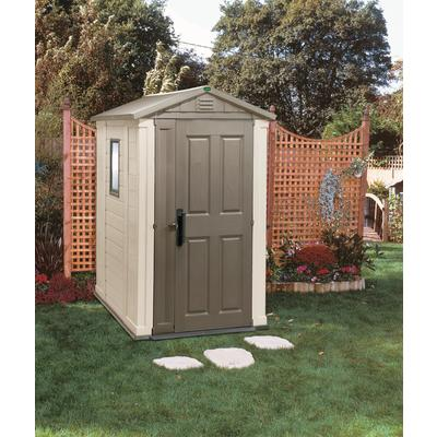 Jardin jardin shed 4 ft x 6 ft home depot canada toronto for Jardin 4x6 shed