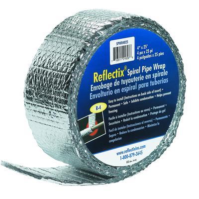 Reflectix Reflectix Pipe Wrap 4 X25 39 Home Depot Canada Toronto