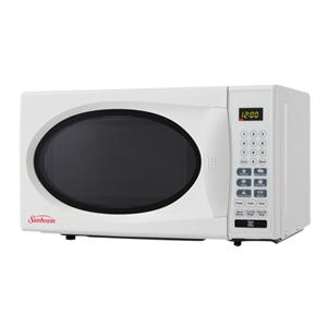 sunbeam 1 1 cu ft microwave sbmw1109w white best buy toronto. Black Bedroom Furniture Sets. Home Design Ideas