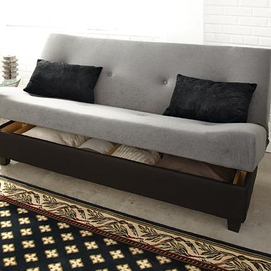 Klik klak Sleeper Marvin II Sofa Bed with Storage Sears Canada Toronto