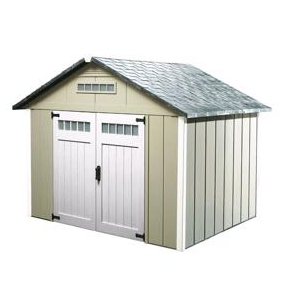 Xpanse sheds 10 39 x 10 39 storage shed home hardware toronto for Home hardware garages