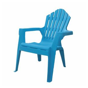 gracious living jazz blue child 39 s resin adirondack chair home hardware toronto. Black Bedroom Furniture Sets. Home Design Ideas