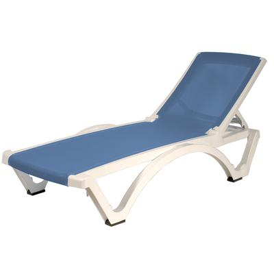 Gracious living sky blue baja lounger home depot canada - Chaises longues piscine ...