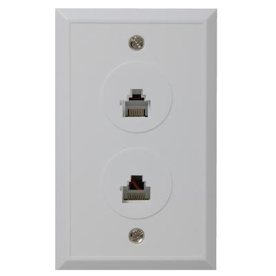 rca rj45 rj11 jack wall plate home depot canada toronto. Black Bedroom Furniture Sets. Home Design Ideas