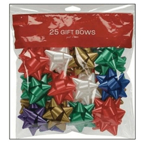 Berwick 25 Pack Christmas Traditional Gift Bows Home
