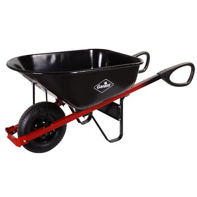True temper 6 cubic feet steel wheelbarrow with ergo loop for Gardening tools toronto