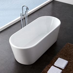 jono azel oblong free standing tub costco toronto. Black Bedroom Furniture Sets. Home Design Ideas