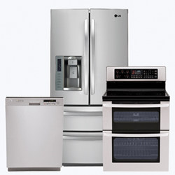Lg 3 piece appliance package stainless steel future - 3 piece kitchen appliance package ...