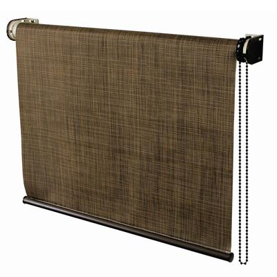 Coolaroo 72 inch x 72 inch coolaroo sandalwood exterior for 20 inch window blinds