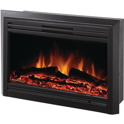 Muskoka Electric Fireplace Insert Gloss Black 25 Inch Home Depot Canada Toronto