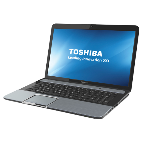 Toshiba Satellite 17.3quot; Laptop  Silver AMD A104600M / 1TB HDD / 8GB