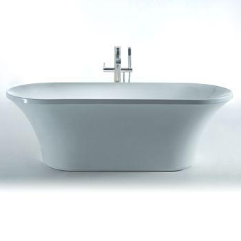 new waves blaze 74 in art deco bathtub costco toronto. Black Bedroom Furniture Sets. Home Design Ideas