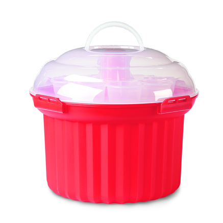 Starfrit Collapsible Cupcake And Cake Carrier