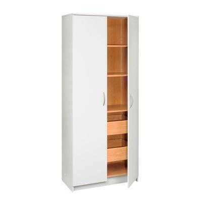 Talon 2 door storage cabinet with 2 pull out drawers for Cost of new cabinet doors and drawers
