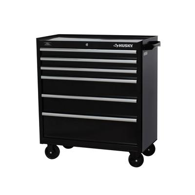 Husky 37 Inch W 6 Drawer Tool Cabinet Home Depot Canada
