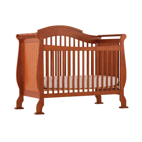 Stork craft valentia fixed side convertible crib 04587 for Best value baby crib