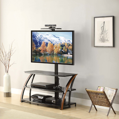 Whalen TV Stand For TVs Up To 54 With Sensor Bar FSXLGT