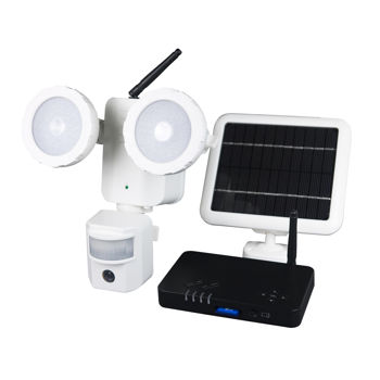 Xepa Solar Powered Led Security Camera Light And Wireless
