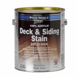 Wood Shield Best 911ml Solid Redwood Acrylic Deck And Siding Stain Home Hardware Toronto