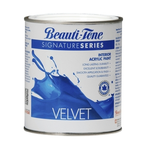 Beauti Tone Signature Series 850ml Clear Base Velvet Finish Interior Latex Paint Home Hardware