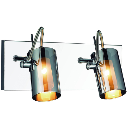 Chrome Garden Wall Lights : Gen Lite Silhouette Collection Chrome 2 Light Wall Lamp - Sears Canada - Toronto