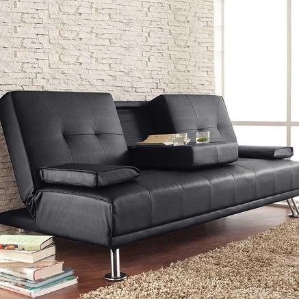 Calico Klik Klak Sleeper Sofabed With Drop Down Table