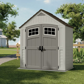 Suncast 7 ft x 4 ft cascade storage shed costco for Casetas jardin leroy merlin