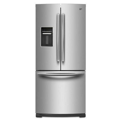 maytag 19 5 cubic feet french door refrigerator