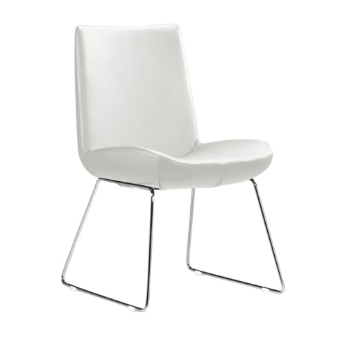 Zuo modern squall dining chairs 2 pack white best for Modern dining chairs toronto