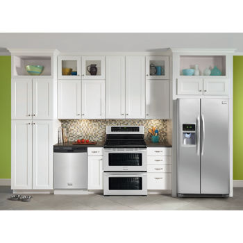 Frigidaire Gallery Stainless Steel Side By Side Refrigerator Kitchen Suite Costco Toronto